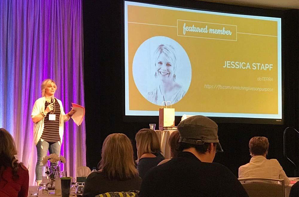 Jessica Stapf: Speaking
